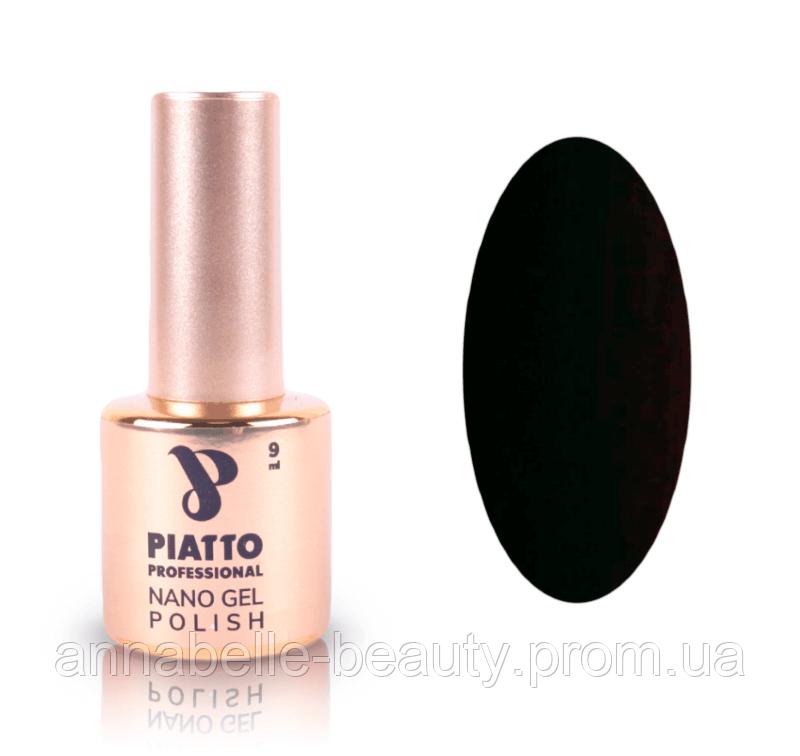 Гель-лак №014 (черно-красный) PIATTO 9 мл