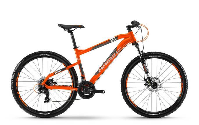 "Велосипед Haibike SEET HardSeven 1.0 27,5"", рама 35см, 2018, оранжевый, фото 2"