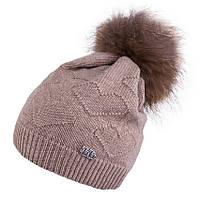 Зимняя шапка для девочки подростка TuTu арт. 3-004343(54-58), фото 1