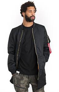 Мужская куртка Alpha Industries MA-1 Long Black