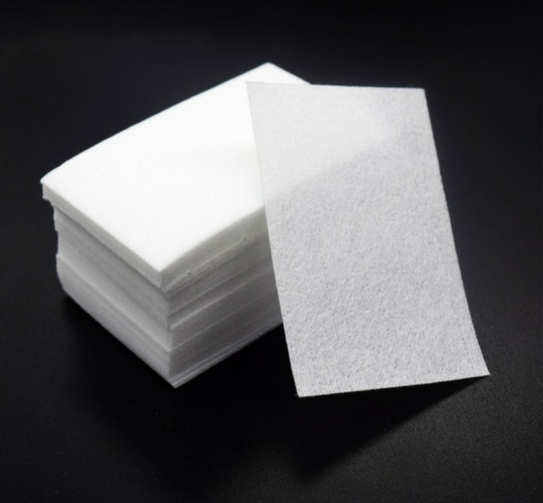 Безворсовые салфетки для снятия липкости, 100шт
