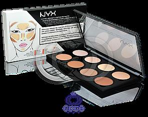Палетка для контуринга особи Nyx Highlight & Contour Pro Palette