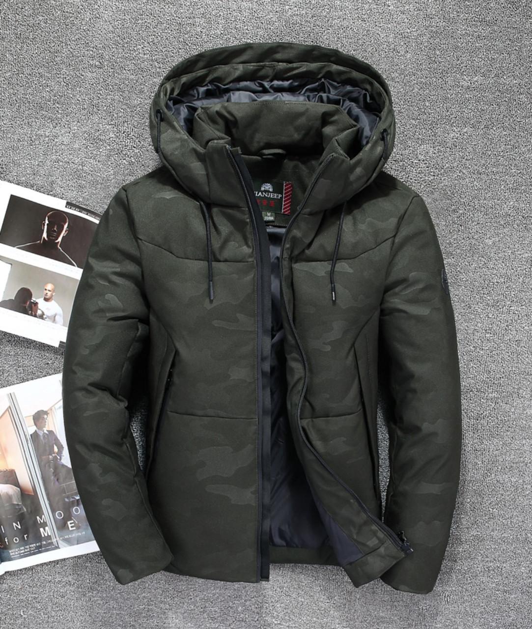 e650e18f56a Мужская Зимняя Куртка Пуховик JEEP в Наличии! (JP-CAMO 02)