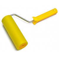 Валик притискний гумовий з ручкою d 6мм, 150 мм Favorit 03-776   прижимной резиновый ручкой