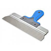 Шпатель сталевий з нержавіючим покриттям фасадний, 350мм Favorit 05-570  |Шпатель фасадный 350мм Favorit 05-570