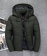 Мужская зимняя куртка пуховик JEEP в наличии! (JP-CAMO_04), хаки / РАЗМЕР 46,48,50