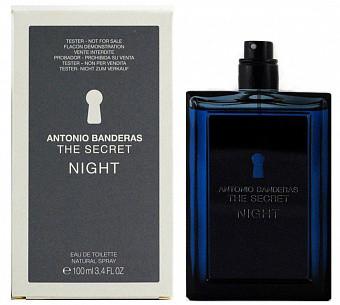 Туалетная вода (тестер) Antonio Banderas The Secret Night 100мл