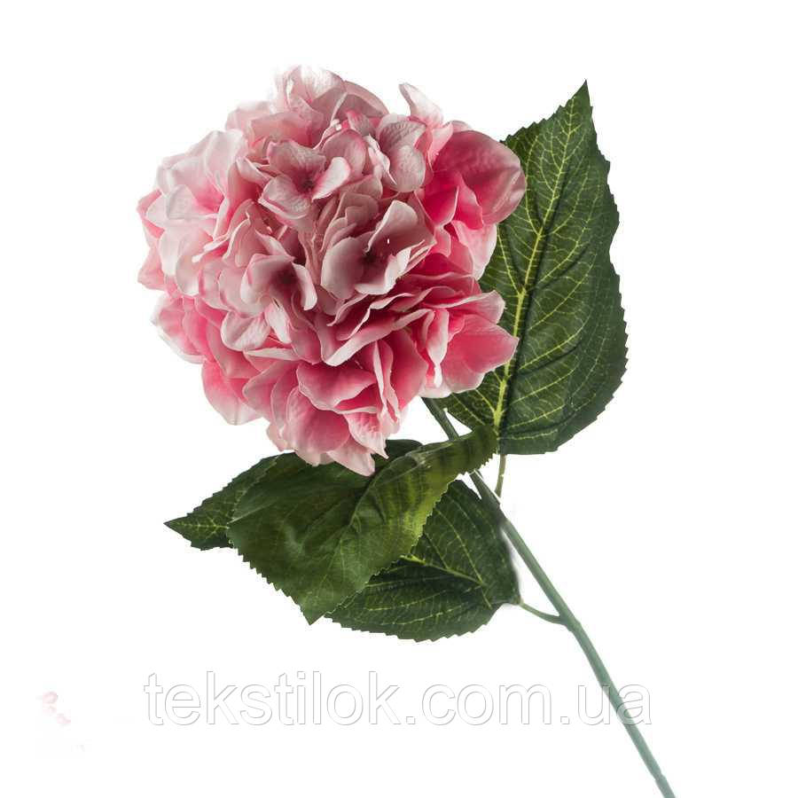 Гортензія рожева 70 см штучні Квіти
