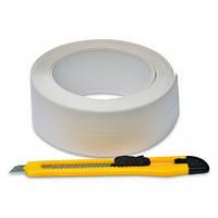 Стрічка-бордюр для ванн 41ммх3,2м + ніж Favorit 10-502 | нож