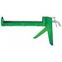 Пістолет для герметика напіввідкритий металевий Favorit 12-000 | пистолет полуоткрытый металлический