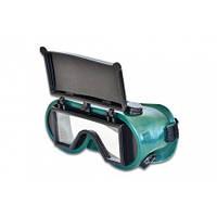 Окуляри зварювальні з прямокутним склом Technics 16-530 | очки сварочные прямоугольным стеклом