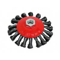 Щітка-крацовка кругова закручена 125 мм SPITCE 18-212 | круговая закрученная