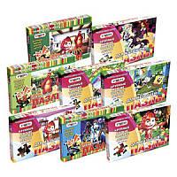 Пазлы 232(16шт) Стратег, мягкие, 16 видов, 35 деталей, в коробке, 22-32см 1