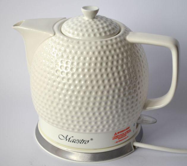 Керамический электро чайник Maestro MR-067, 1,5L,  1200W, дисковый