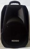 "Колонка с аккумулятором комбоусилитель KEDIBO G08 10"" дюймов, 70W, радиомикрофон, фото 3"