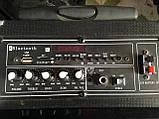 Колонка с аккумулятором комбик Kedibo Q-18, 70W, микрофон, Bluetooth, фото 2