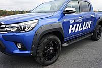 Расширители колесных арок  Pocket Style Toyota HiLux 2015+, фото 1