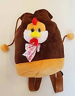 Рюкзак детский с цыпленком, 23х21см