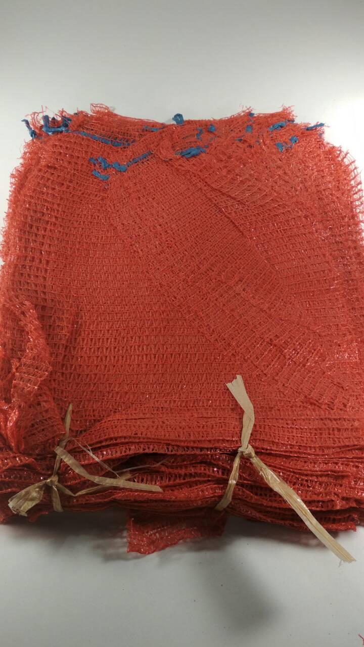 Мішок овочева сітка (р30х47) 10 кг червона з ручкою (100 шт)