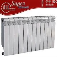 Радиаторы биметаллические Alltermo Super 100/500.Радиатор для квартиры.
