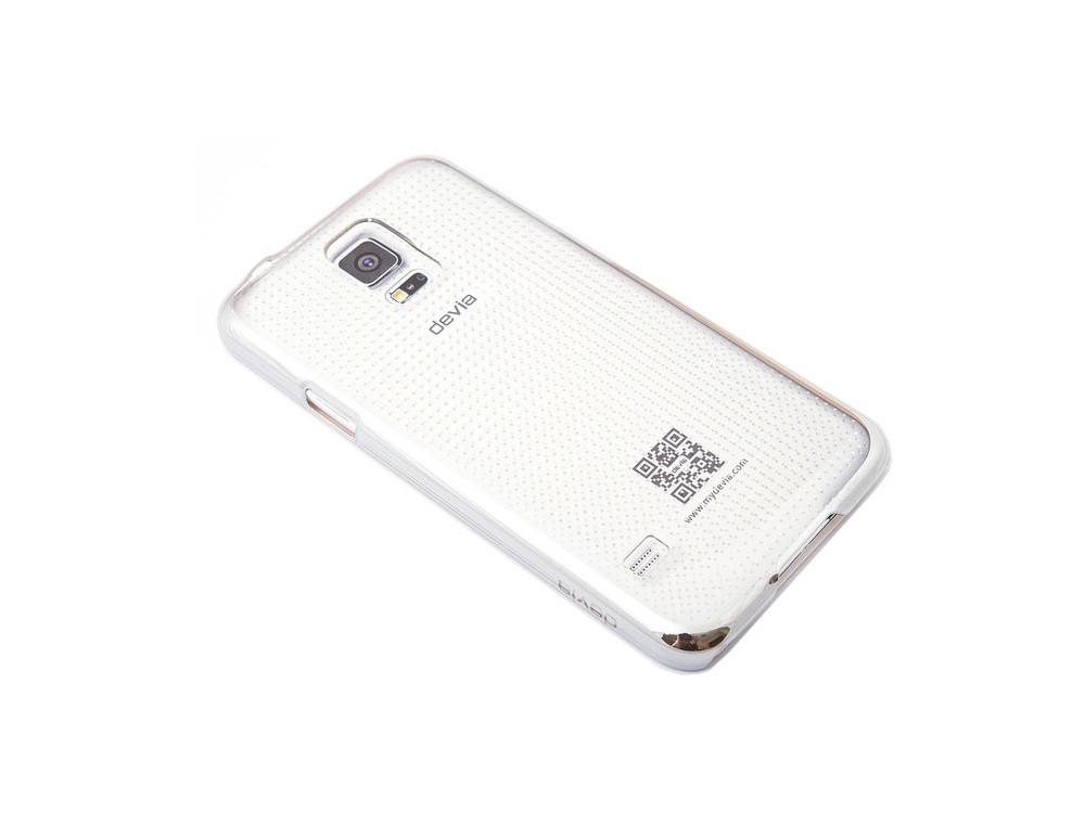 Чехол Devia для Samsung Galaxy S5 Glimmer Spot Silver