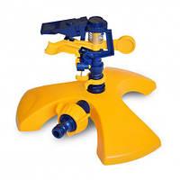 Розпилювач імпульсний пластиковий на підставці Verano 72-070   розпилювач, дощувач, зрошувач, поливалка, распылитель, дощеватель, ороситель,
