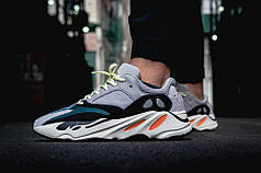 Кроссовки  Adidas Yeezy Boost 700 серые топ реплика