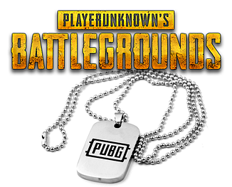 Брелок жетон PUBG PLAYERUNKNOWN'S BATTLEGROUNDS кулон