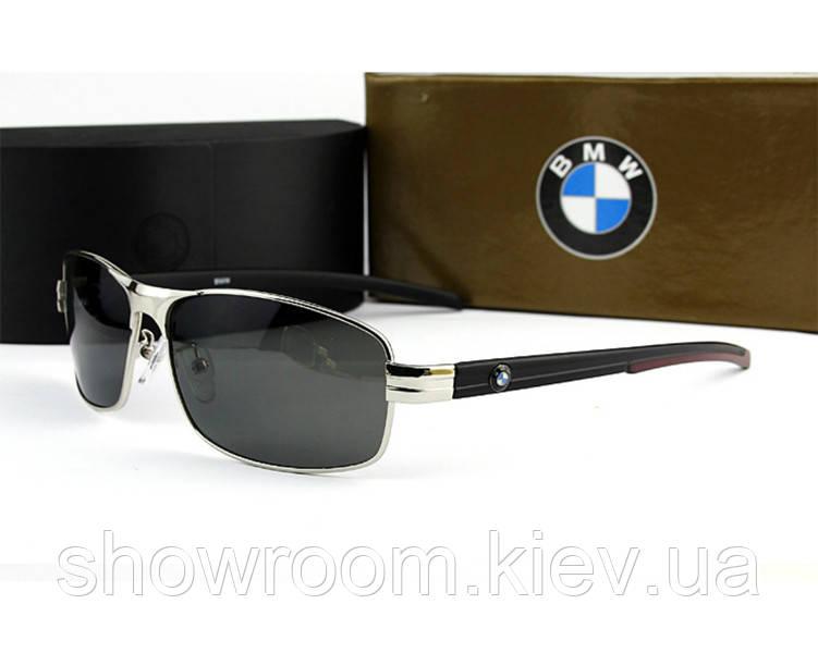 Солнцезащитные очки в стиле BMW (750) silver