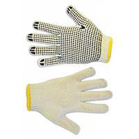 Рукавички плетені сірі з вкрапленням, L Technics 16-001 | перчатки плетеные серые вкраплением