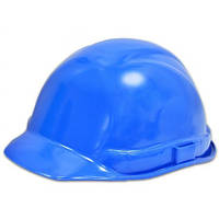 Каска будівельника синя 16-502 | строителя синяя