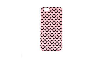 Чехол ARU для iPhone 6/6S Hearts Pink