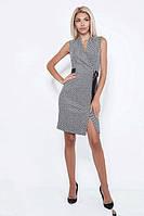 Платье женское короткое с узором без рукавов (К24128), фото 1