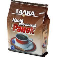 Кофе ''Галка'' растворимый напиток ''Ранок'' 100г