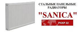 Cтальной  радиатор SANICA тип 22K 500*500