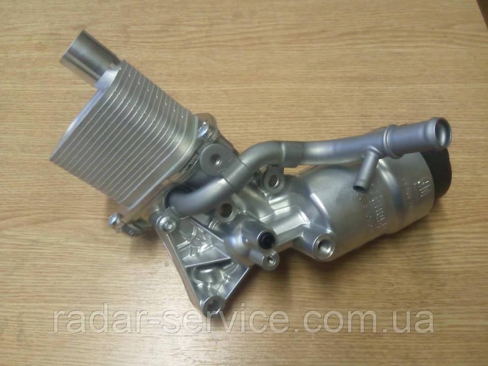 Радиатор тепообменника c масл. фильтром в сб. LUJ-1.4L-turbo, 55566784, GM
