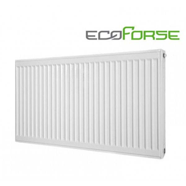 Cтальной  радиатор ECOFORSE тип 22 500*400