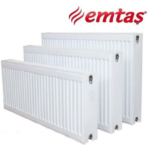 Cтальной  радиатор Emtas тип 22K 500*500