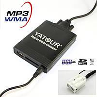 Адаптер для VW, Audi, Skoda, Seat 12 pin YATOUR YT-M06 USB/SD/AUX Эмулятор CD чейнджера WV12, фото 1