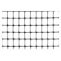 Сітка огороджувальна полімерна, 50 г/м2, вічко 21х21, 1х200м Verano 68-904 | сетка полим