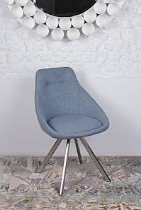Стул поворотный TOLEDO (Толедо) голубой от Niсolas,ткань