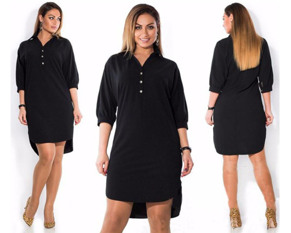 Женское платье-рубашка AL3047