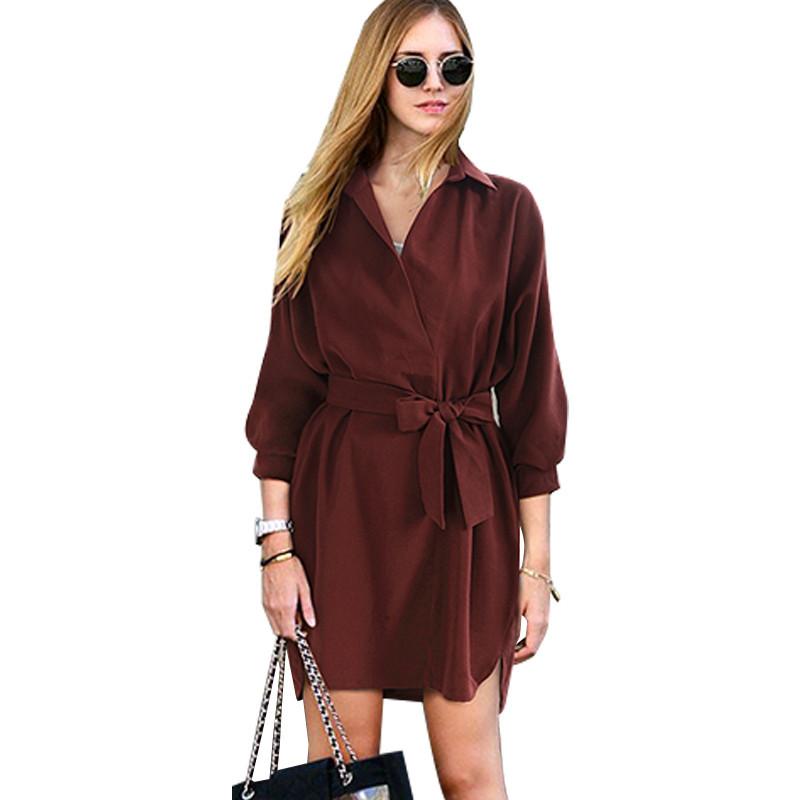 Женское платье-рубашка Autumn AL3051