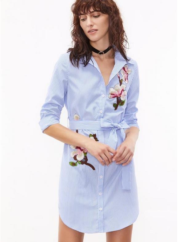 Женское платье-рубашка Orchid AL3052