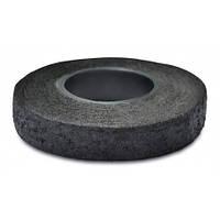 Ізострічка ХБ чорна 18ммх10м 10-723 | изолента черная стрічка ізоляційна, лента изоляционная, ізолента