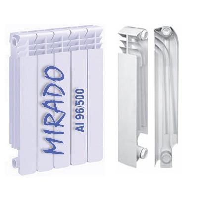 Алюминиевый радиатор Mirado 500*96 (Одесса).Радиатор для квартиры.