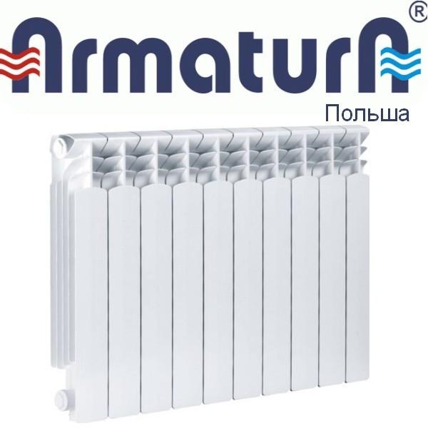Алюминиевый радиатор ARMATURA G500F 500*90 (Польша)
