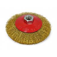 Щітка-крацовка кругова латунна 115 мм SPITCE 18-103 | круговая латунная