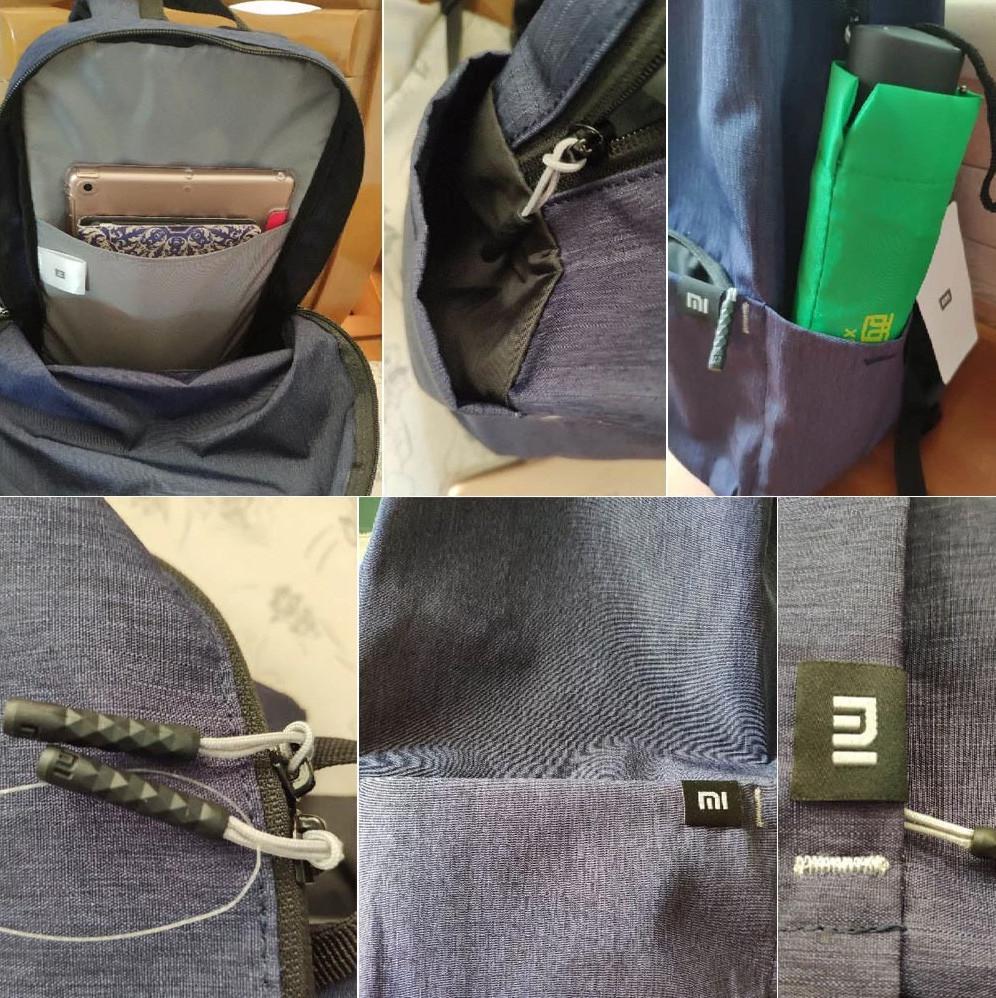 Оригинальный молодежный рюкзак Xiaomi Mi Colorful Mini Backpack Bag 10L. ba6df6a65079a