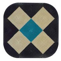 Килимок овальний, 65х65 см 66-149 | коврик овальный